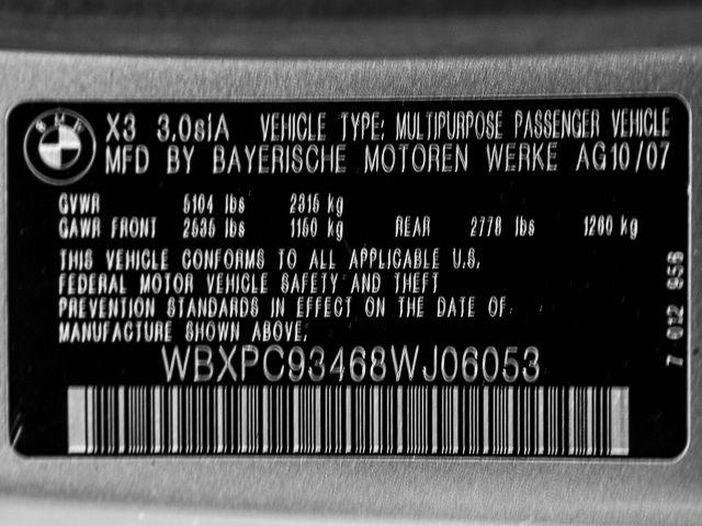2008 BMW X3 3.0si Burbank, CA 20