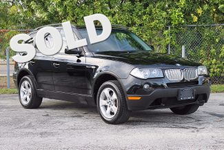 2008 BMW X3 3.0si Hollywood, Florida