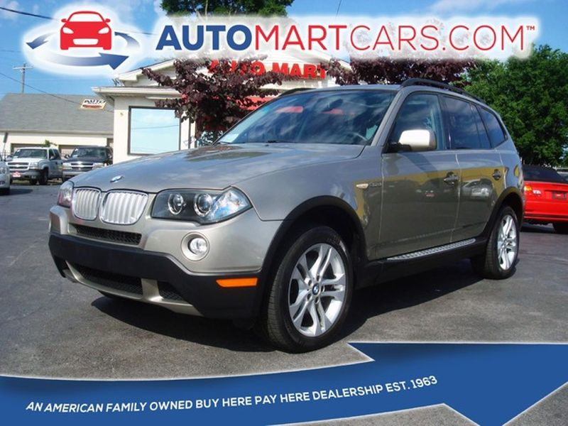 2008 BMW X3 3.0si  | Nashville, Tennessee | Auto Mart Used Cars Inc. in Nashville Tennessee
