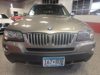 2008 Bmw X3 3.0 Awd, Heated Wheel & REAR SEATS, AWESOME INTERIOR COLOR Saint Louis Park, MN 22