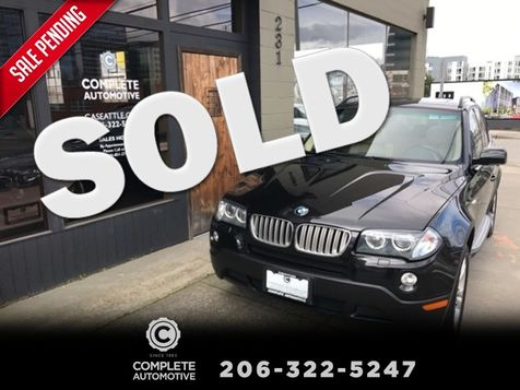 2008 BMW X3 3.0si All Wheel Drive Sport Cold Weather  Premium Packages Xenons Local Very Nice! in Seattle