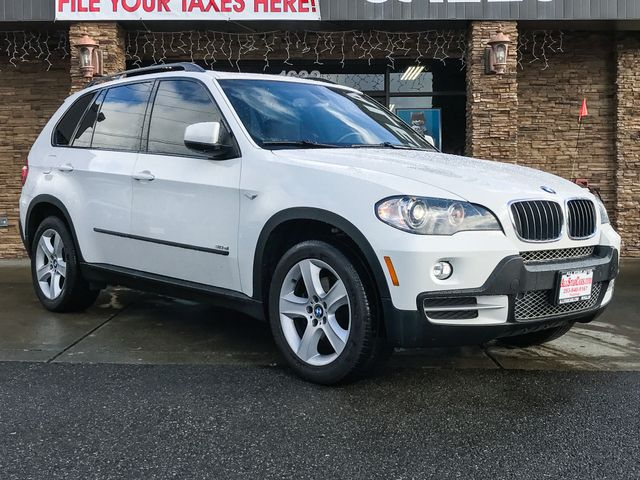 2008 BMW X5 30si White 2008 BMW X5 30si AWD 6-Speed Automatic Electronic 30L I6 DOHC 24V Valvet