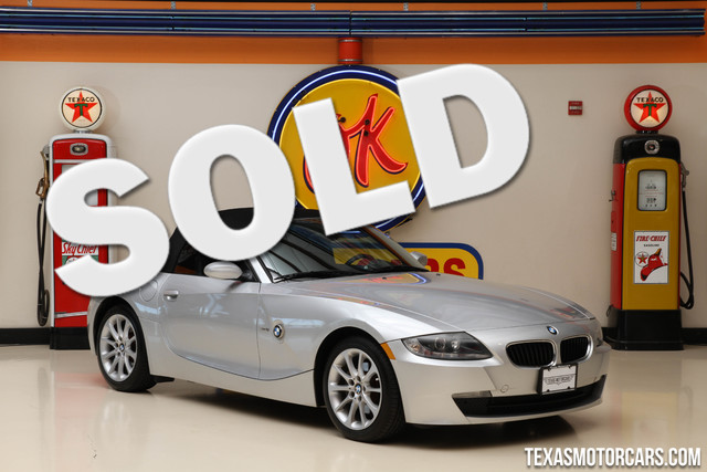 2008 BMW Z4 30i This clean Carfax 2008 BMW Z4 is in great shape with only 57 789 miles The Z4 h
