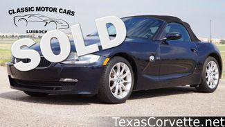 2008 BMW Z4 3.0i in Lubbock Texas