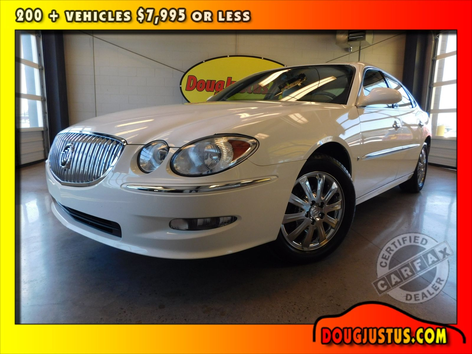 2008 buick lacrosse cxl city tn doug justus auto center inc for Motor city auto center
