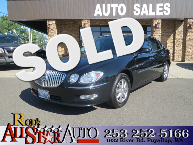 2008 Buick LaCrosse CXL The CARFAX Buy Back Guarantee that comes with this vehicle means that you
