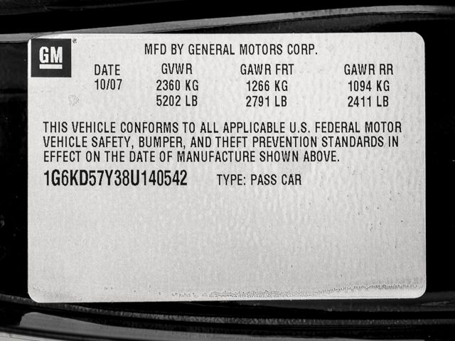 2008 Cadillac DTS w/1SB Burbank, CA 25
