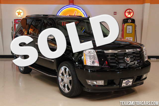 2008 Cadillac Escalade This 2008 Cadillac Escalade is in great shape with only 123 829 miles The