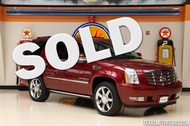 2008 Cadillac Escalade Financing is available with rates as low as 29 wac Get pre-approved in