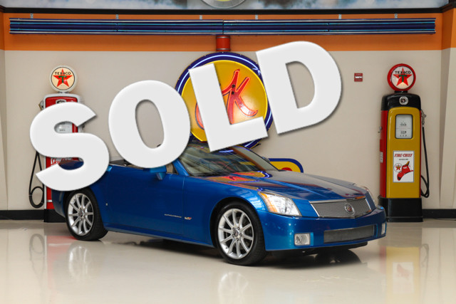 2008 Cadillac XLR V-Series This Carfax 1-Owner 2008 Cadillac XLR V-Series is in great shape with on