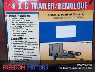 2008 Carry-On 4x6 Trailer in Abilene Texas