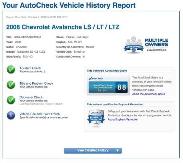 2008 Chevrolet Avalanche LT w/1LT San Antonio , Texas 9