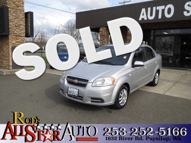 2008 Chevrolet Aveo LS The CARFAX Buy Back Guarantee that comes with this vehicle means that you c
