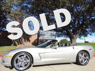 2008 Chevrolet Corvette Convertible 3LT, NAV, F55, MHT Chromes, Auto, 46k! Dallas, Texas