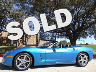 2008 Chevrolet Corvette Conv. 3LT, NAV, NPP, Museum, Chromes 10k! Dallas, Texas