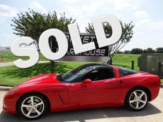 2008 Chevrolet Corvette Coupe 3LT, Z51, Glass Top, Corsa, Chromes 12k! Dallas, Texas