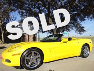 2008 Chevrolet Corvette Convertible 3LT, NAV, Pwr Top, Chromes 36k! in Dallas Texas