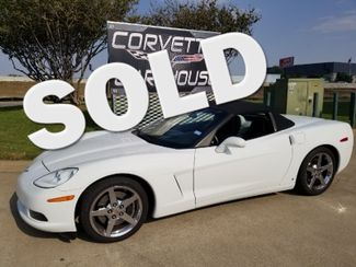 2008 Chevrolet Corvette Convertible 3LT, F55, NAV, NPP, Chromes 38k!   Dallas, Texas   Corvette Warehouse  in Dallas Texas