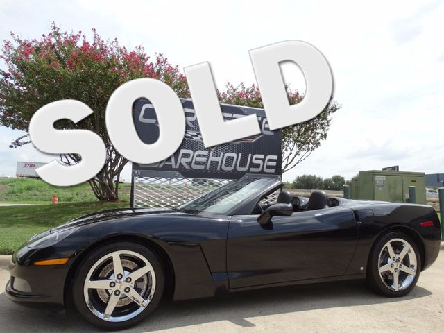 2008 Chevrolet Corvette Convertible 3LT, Z51, NAV, Auto, Chromes 60k! | Dallas, Texas | Corvette Warehouse