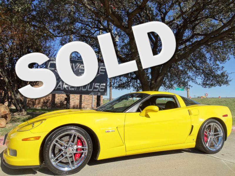 2008 Chevrolet Corvette Z06 Hardtop 2LZ, NAV, NPP, Chromes 29k! | Dallas, Texas | Corvette Warehouse