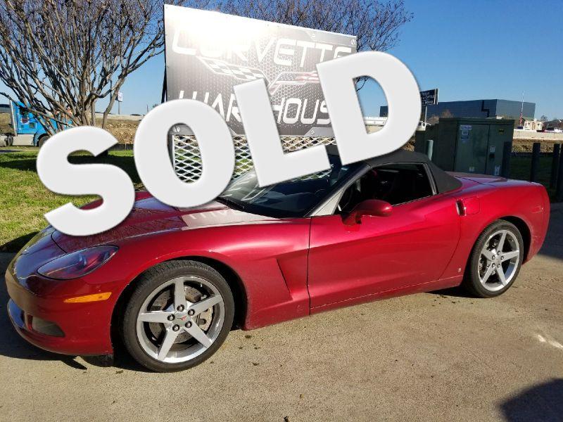 2008 Chevrolet Corvette Convertible 3LT, Z51, NAV, NPP, Chromes 14k! | Dallas, Texas | Corvette Warehouse