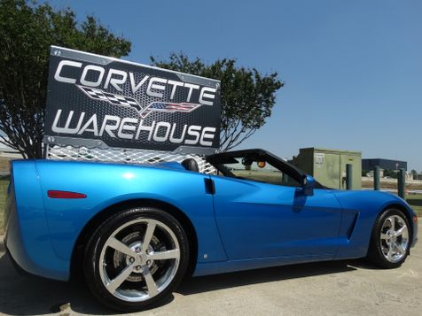 2008 Chevrolet Corvette Convertible 3LT, Z51, NAV, NPP, Chromes 8k! | Dallas, Texas | Corvette Warehouse  in Dallas, Texas