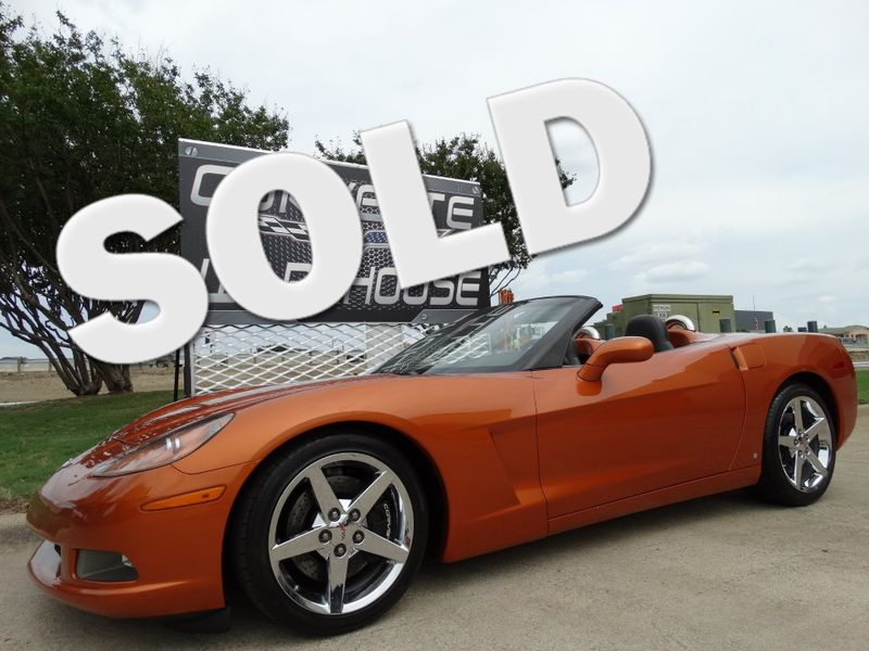 2008 Chevrolet Corvette Convertible 3LT, Z51, NAV, NPP, Chromes 35k! | Dallas, Texas | Corvette Warehouse