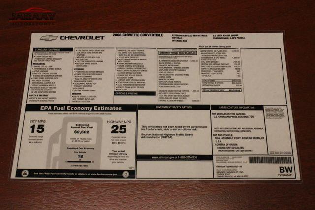 2008 Chevrolet Corvette Merrillville, Indiana 54