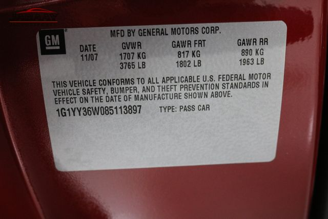 2008 Chevrolet Corvette Merrillville, Indiana 47