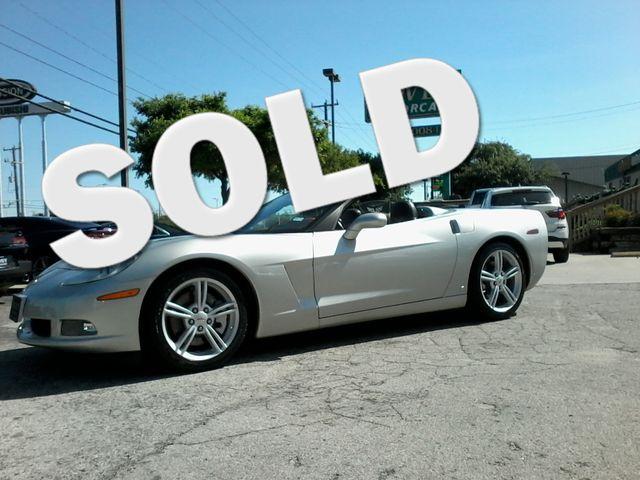 2008 Chevrolet Corvette 3LT Z51 Pkg & More San Antonio, Texas 0