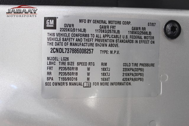 2008 Chevrolet Equinox Sport Merrillville, Indiana 41