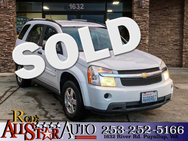 2008 Chevrolet Equinox LS AWD The CARFAX Buy Back Guarantee that comes with this vehicle means tha