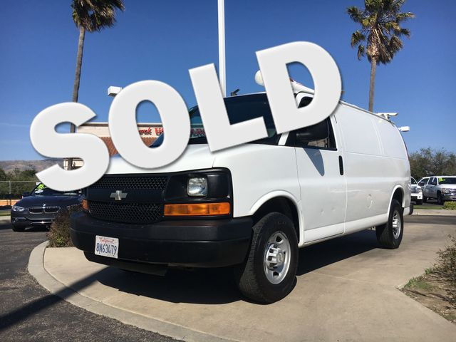 2008 Chevrolet Express Cargo Van Get the horse power and the tow capacity you need with powerful V