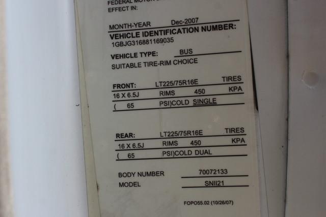 2008 Chevrolet Express  StarTrans Senator Handicap Mooresville , NC 50