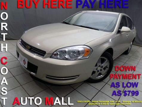 2008 Chevrolet Impala LT As low as $799 DOWN in Cleveland, Ohio