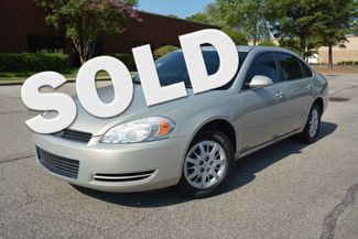 2008 Chevrolet Impala Police Unmarked Memphis, Tennessee
