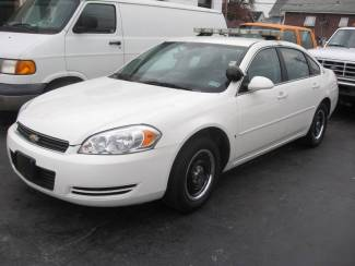 2008 Chevrolet Impala Police w/ Equipment Patrol Ready LED lightbar 2 Digital Cameras Radio St. Louis, Missouri 35