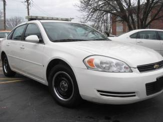 2008 Chevrolet Impala Police w/ Equipment Patrol Ready LED lightbar 2 Digital Cameras Radio St. Louis, Missouri 42