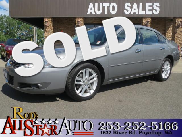 2008 Chevrolet Impala LTZ The CARFAX Buy Back Guarantee that comes with this vehicle means that yo
