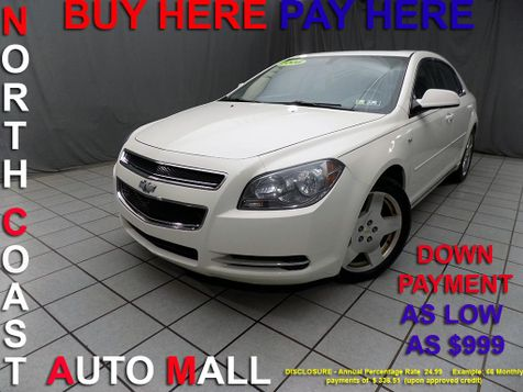 2008 Chevrolet Malibu LT w/2LT As low as $999 DOWN in Cleveland, Ohio