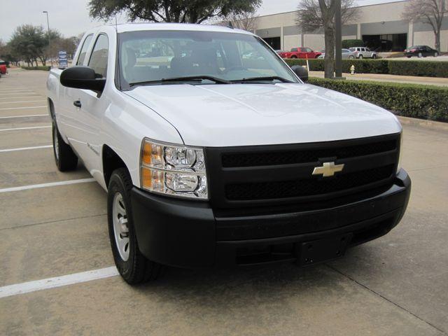 2008 Chevrolet Silverado 1500 X/Cab WT 1 Owner, Service History, Lo Mi. Plano, Texas 1