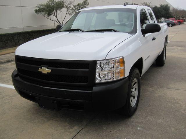 2008 Chevrolet Silverado 1500 X/Cab WT 1 Owner, Service History, Lo Mi. Plano, Texas 3