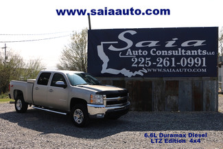 2008 Chevrolet 2500 Hd Crew Cab Duramx Diesel Ltz 4WD Leather Htd Seats Only 70k Miles in Baton Rouge  Louisiana