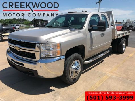 2008 Chevrolet Silverado 3500HD LT WT 4x4 Diesel Ext Cab Flatbed Utility Low Miles in Searcy, AR