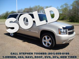 2008 Chevrolet Suburban LT 1-OWNER, NAVI, ROOF, DVD, 20's, NEW TIRES, 4X4 in  Tennessee