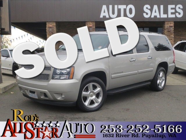 2008 Chevrolet Suburban LTZ 4WD The CARFAX Buy Back Guarantee that comes with this vehicle means t