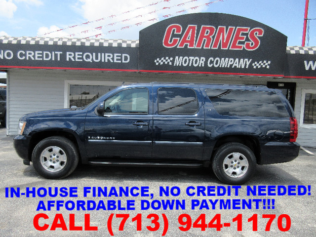 2008 Chevrolet Suburban, PRICE SHOWN IS THE DOWN PAYMENT south houston, TX 0