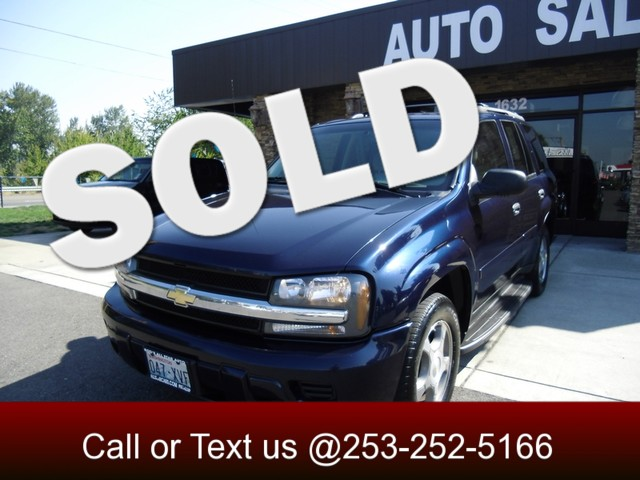 2008 Chevrolet TrailBlazer 4WD The CARFAX Buy Back Guarantee that comes with this vehicle means tha