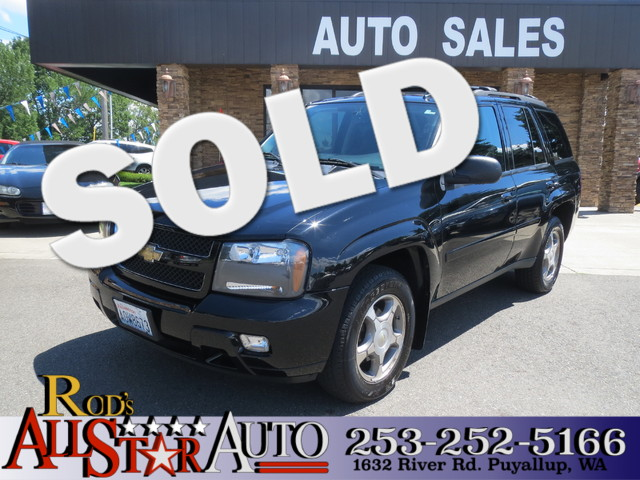 2008 Chevrolet TrailBlazer 4WD The CARFAX Buy Back Guarantee that comes with this vehicle means th