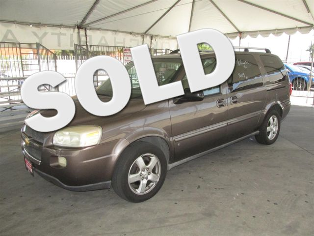 2008 Chevrolet Uplander LT w1LT This particular Vehicle comes with 3rd Row Seat Please call or e